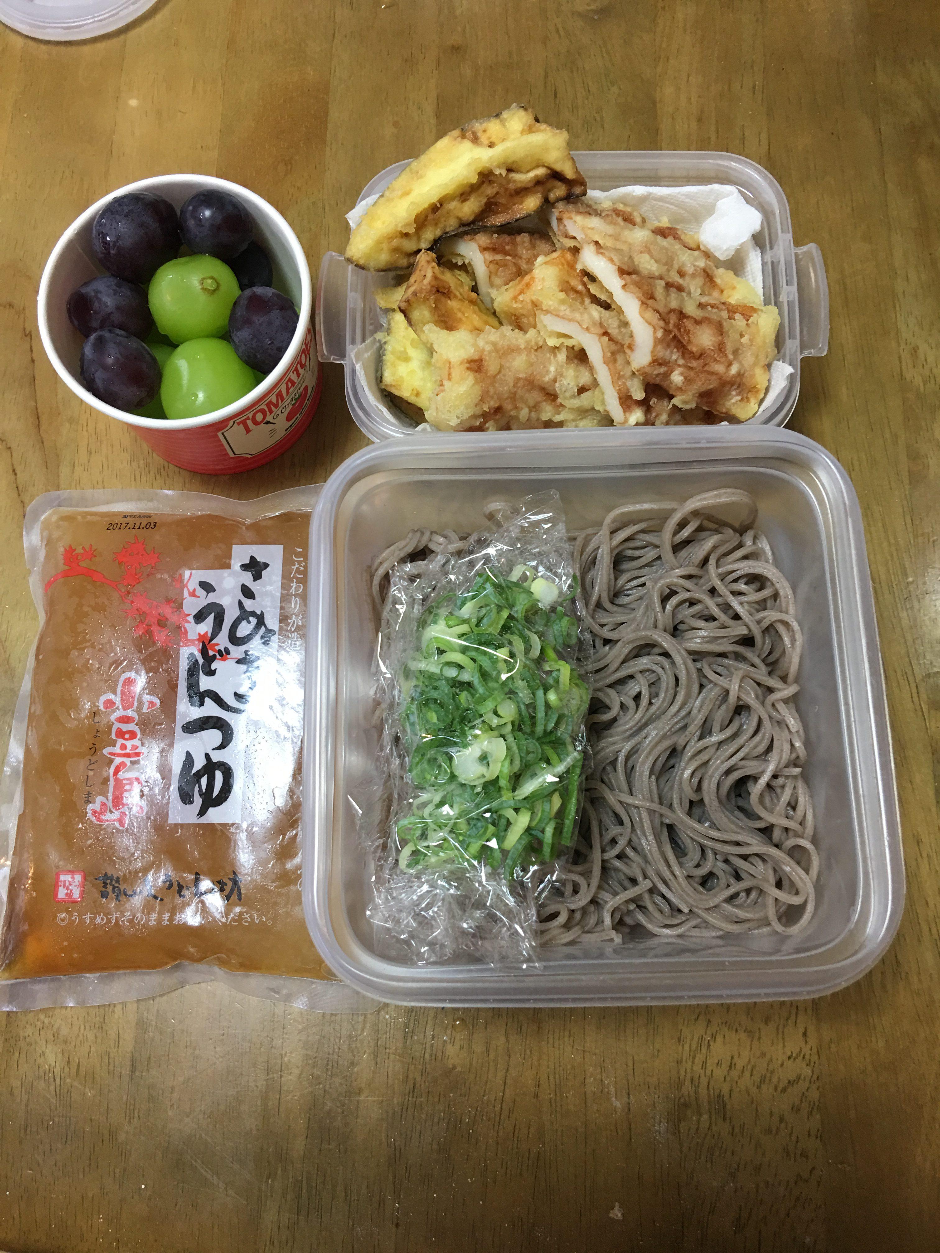 ひやかけ蕎麦/ミッチトリオ