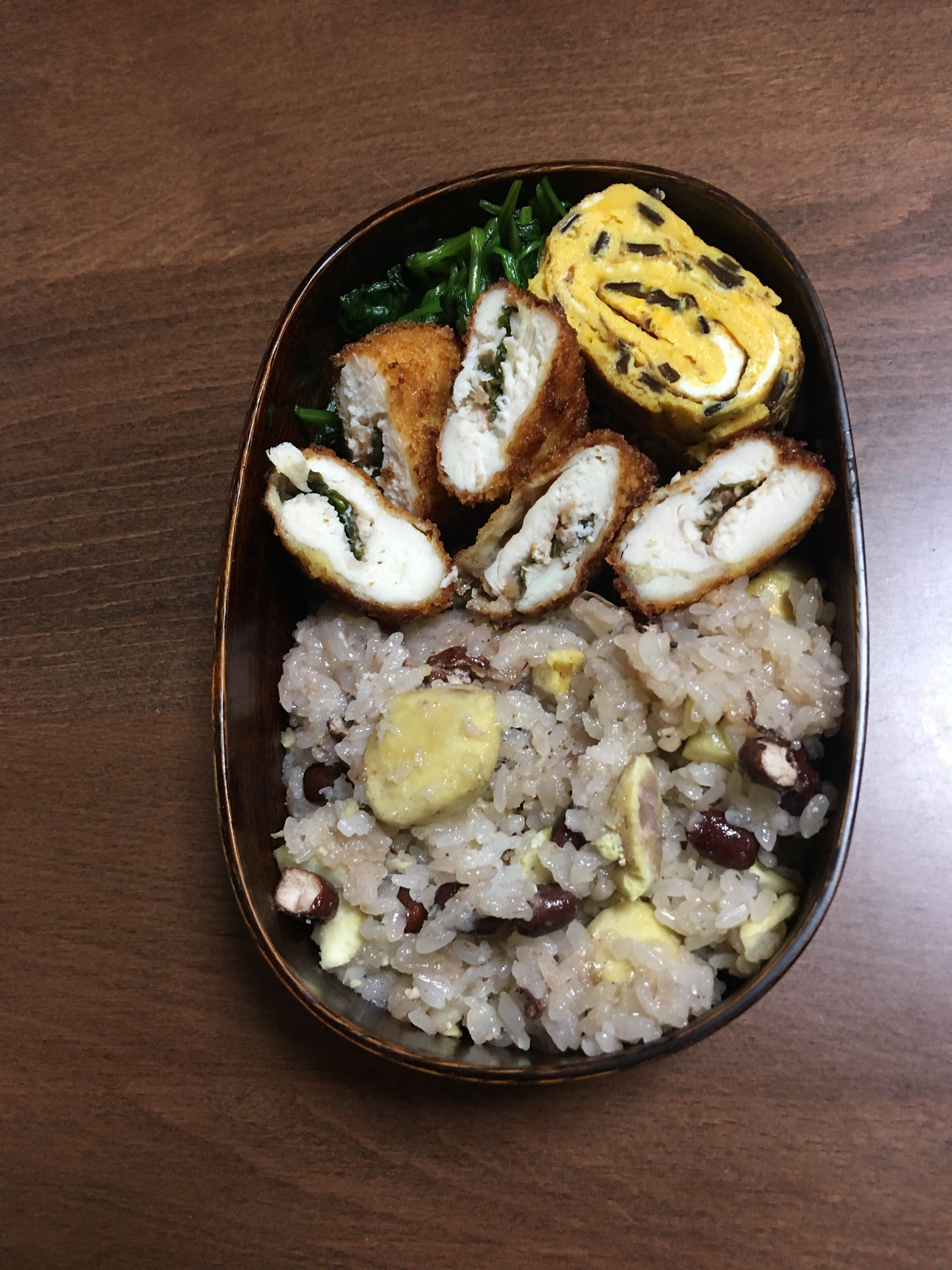 栗ご飯(10月9日)
