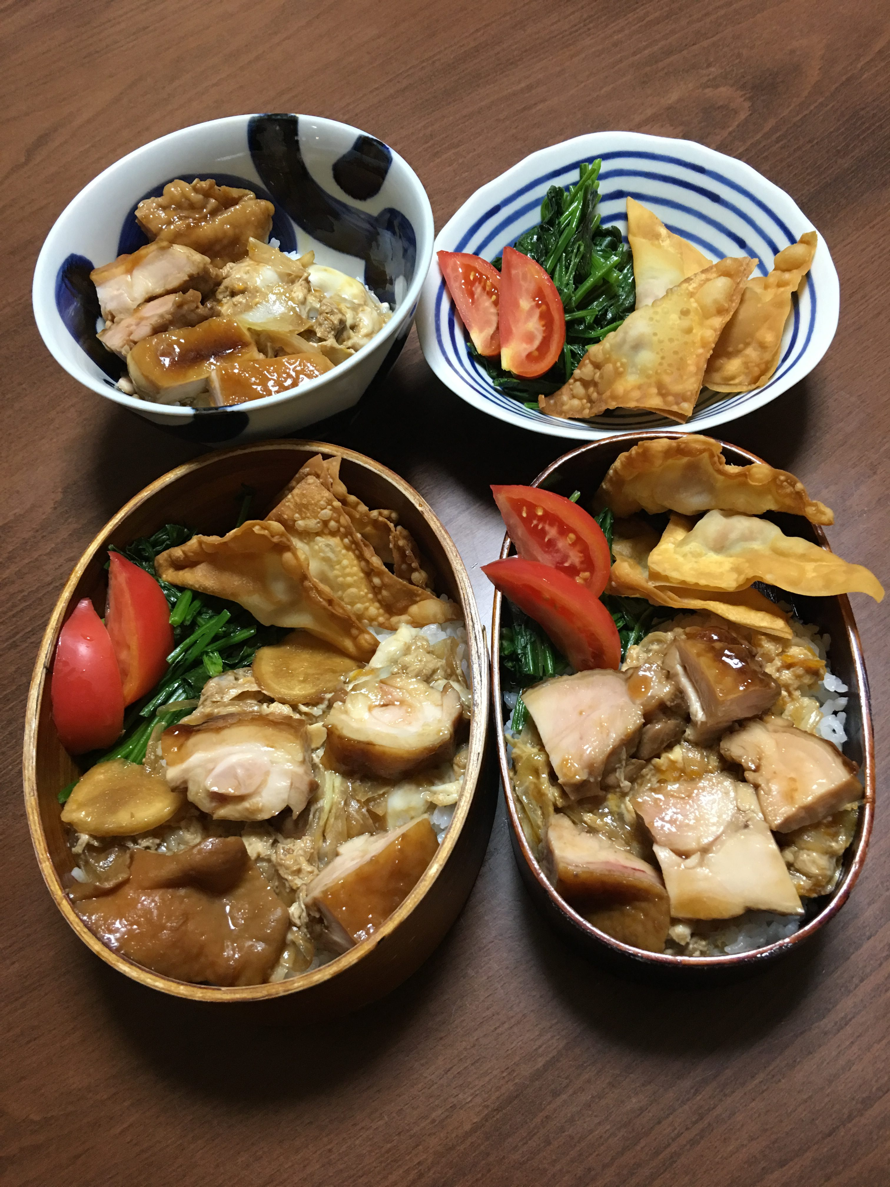 とり丼/ナットキングコール