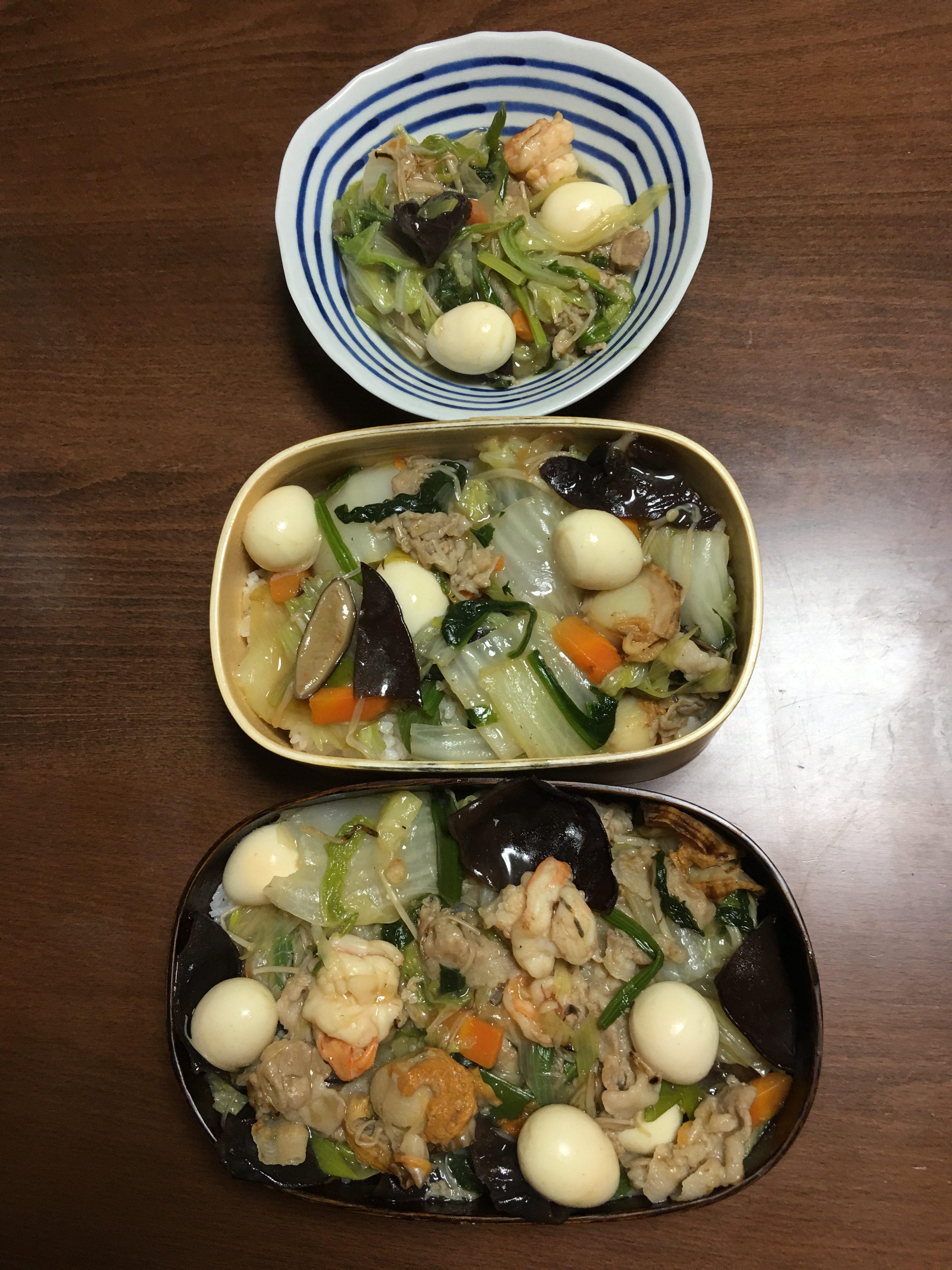 八宝菜丼/ギルバートオサリバン