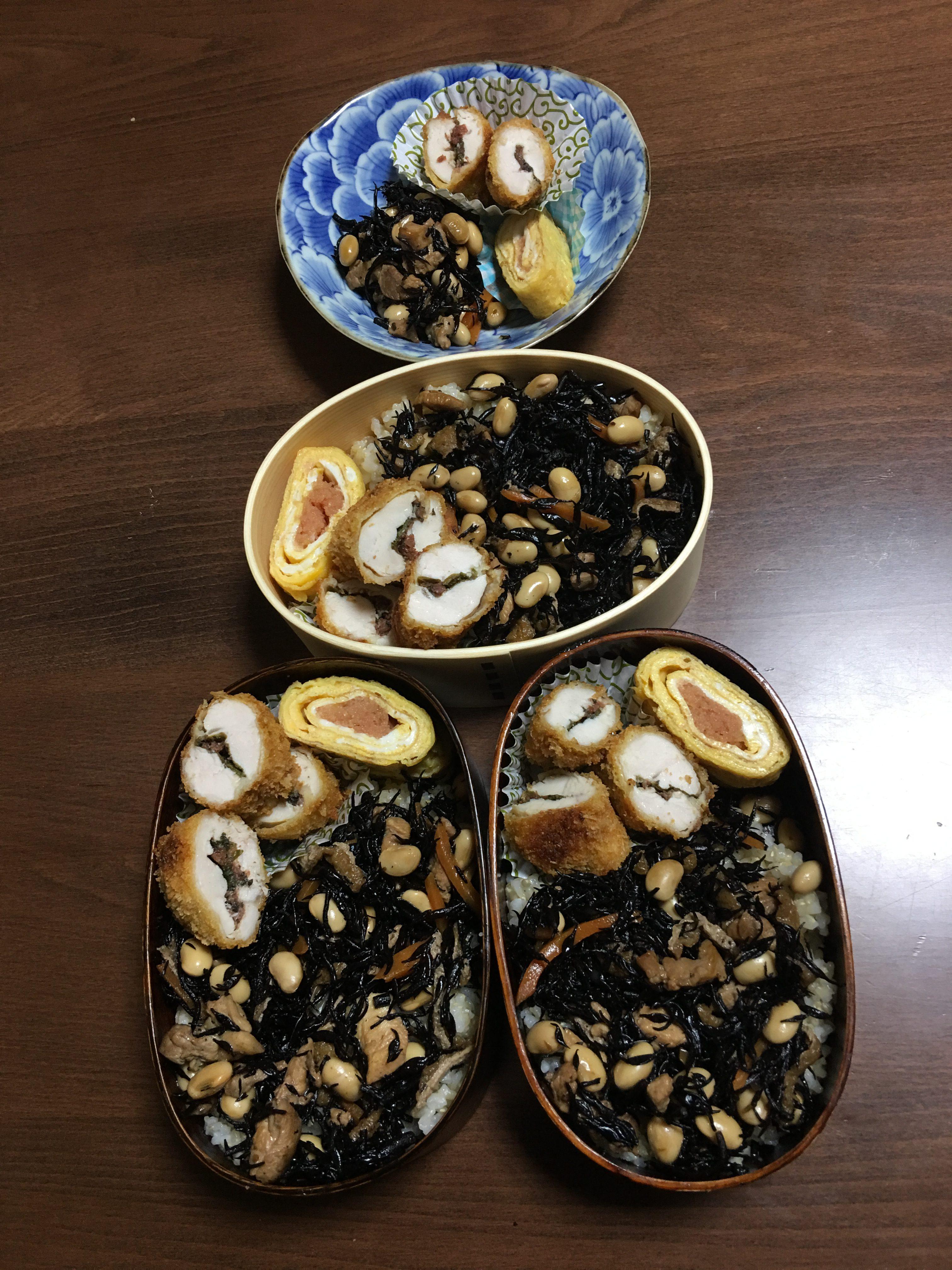 ひじき丼/オスカーピターソン・エラフィッツジェラルド