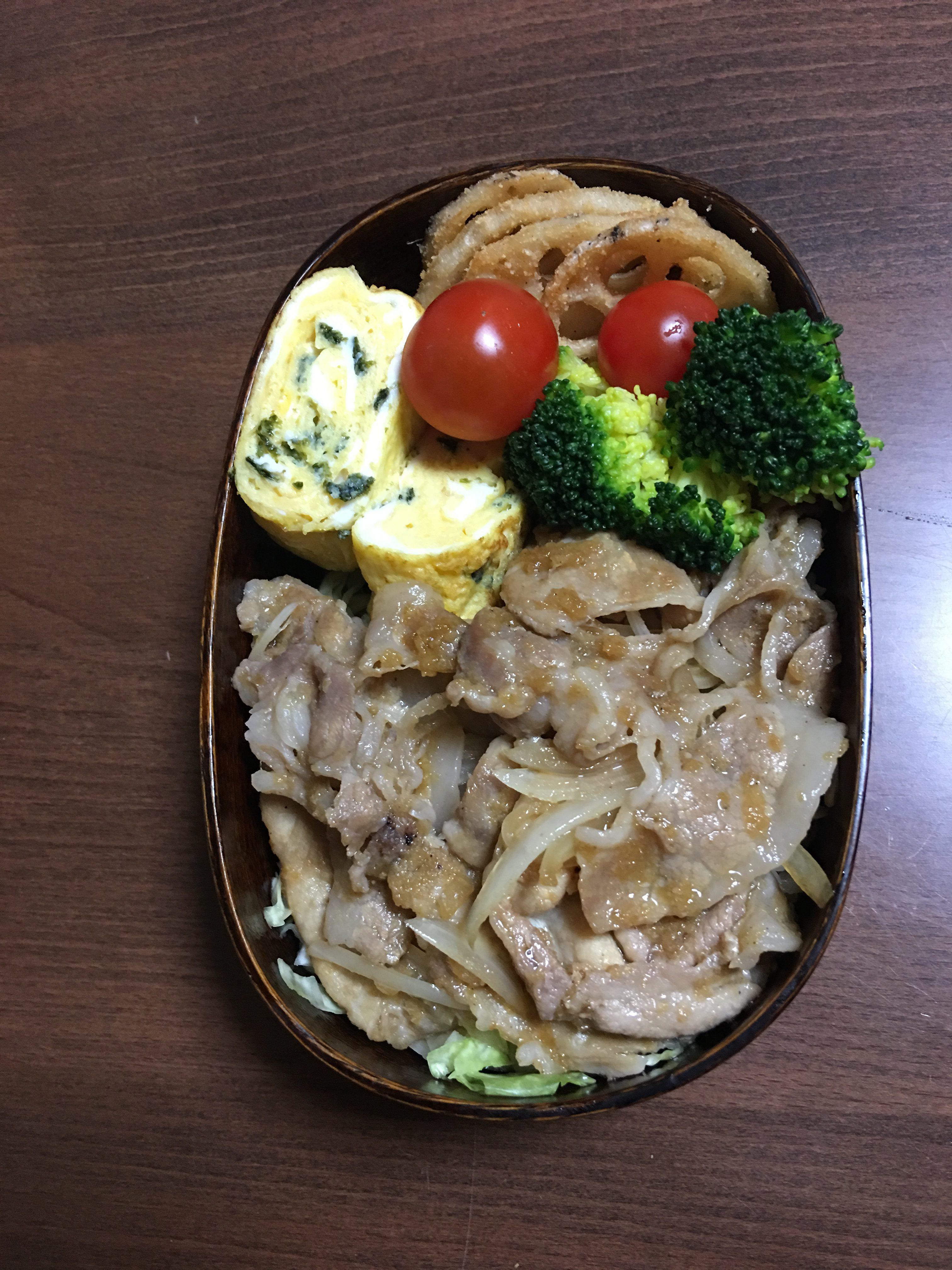 生姜焼き(玉ねぎジャム)/豊島ひろ子