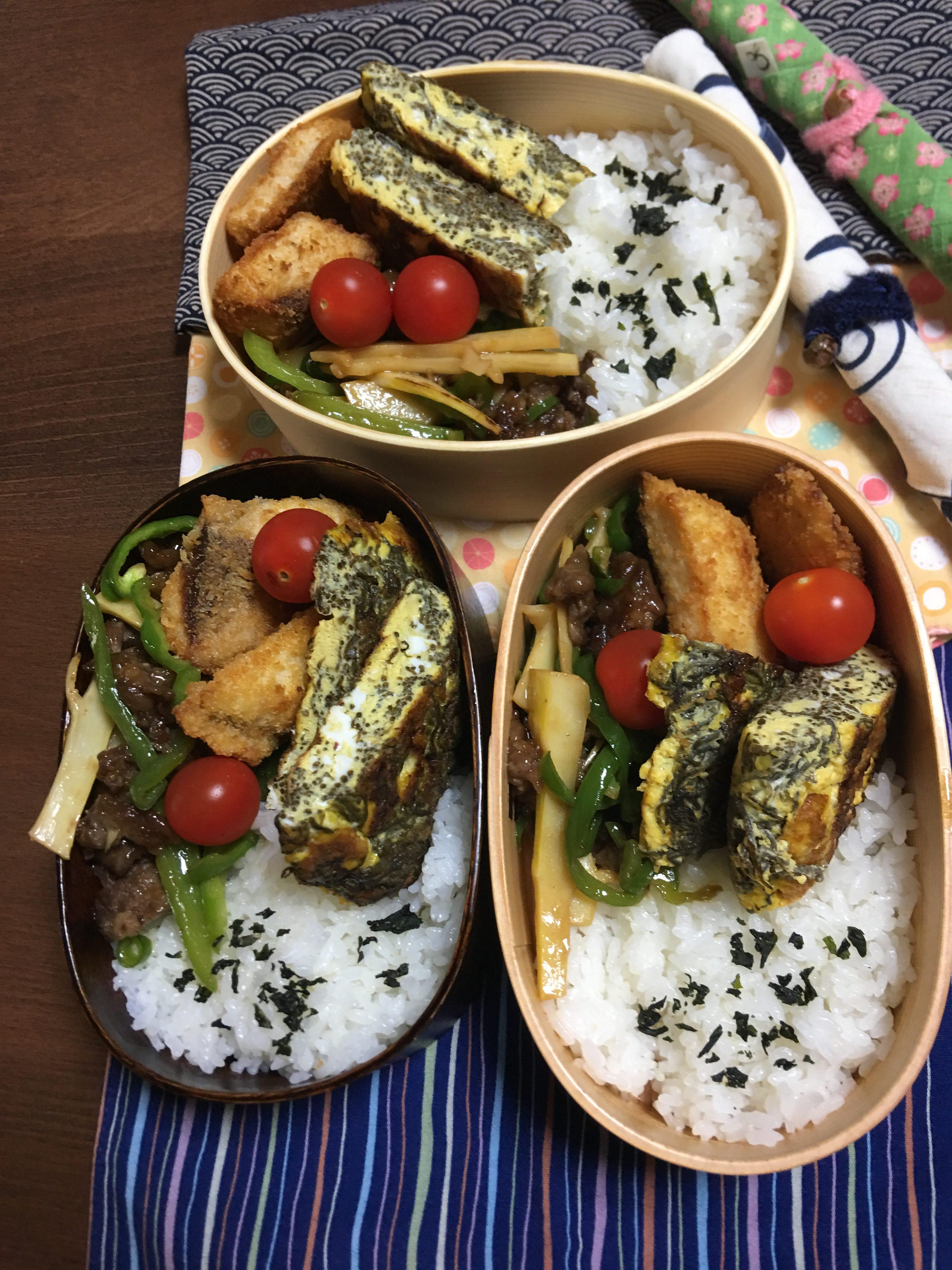 青椒肉絲/マグロ